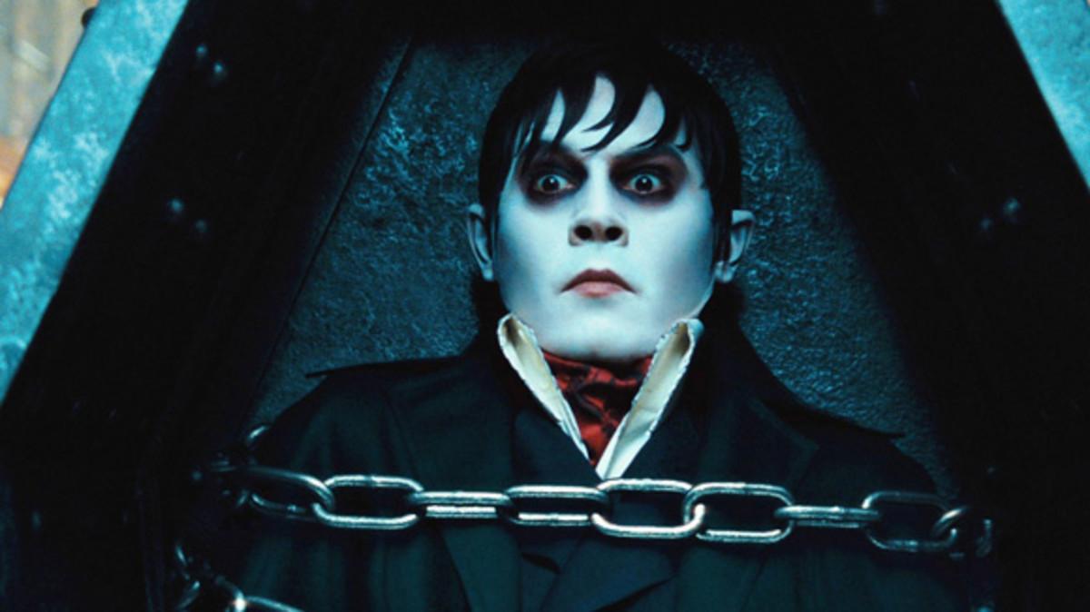 Johnny Depp in Dark Shadows.