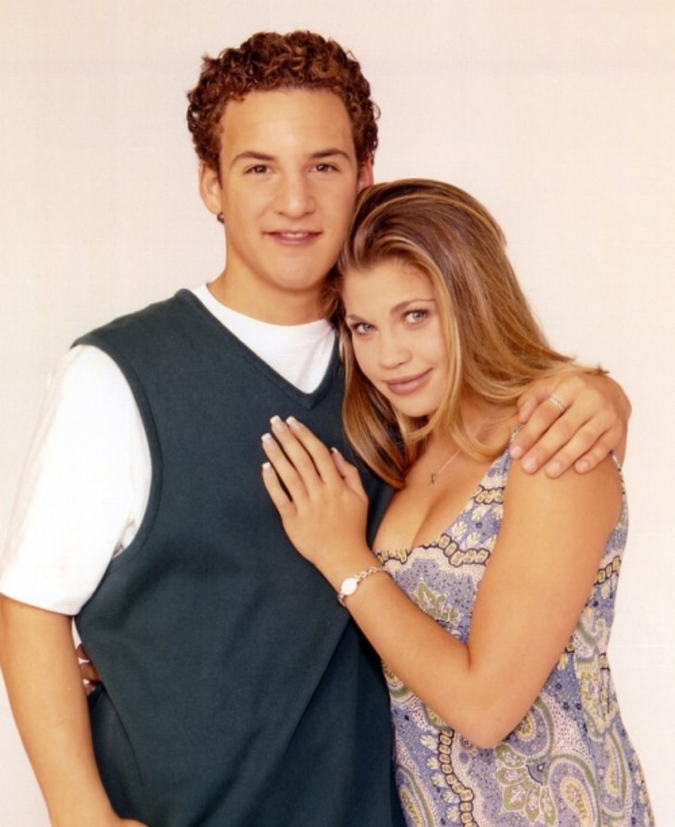 Ben Savage & Danielle Fishel.