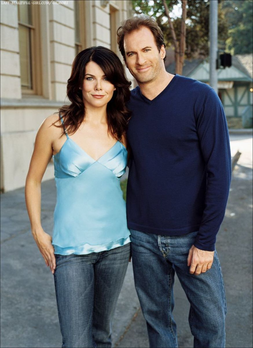 Lauren Graham & Scott Patterson.