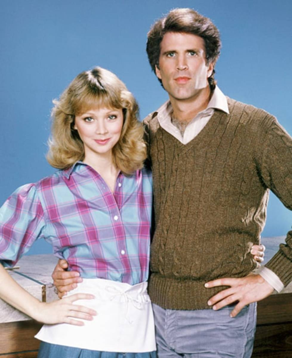 Shelley Long & Ted Danson.