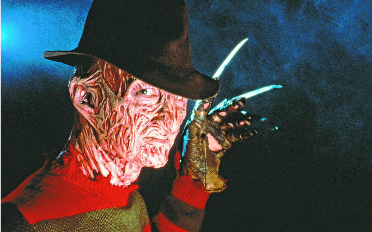 Robert Englund as Freddy Krueger in A Nightmare on Elm Street.