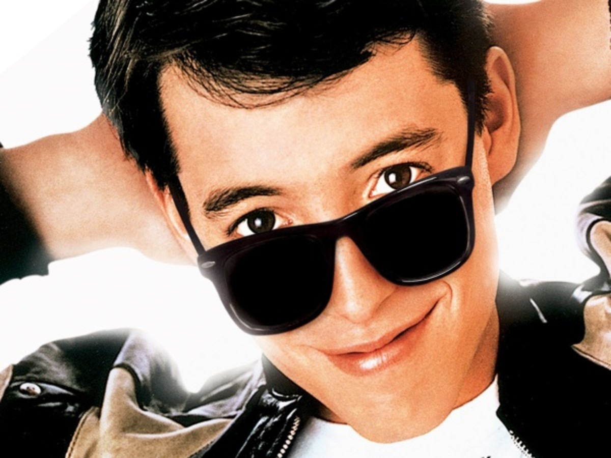 Matthew Broderick as Ferris Bueller.