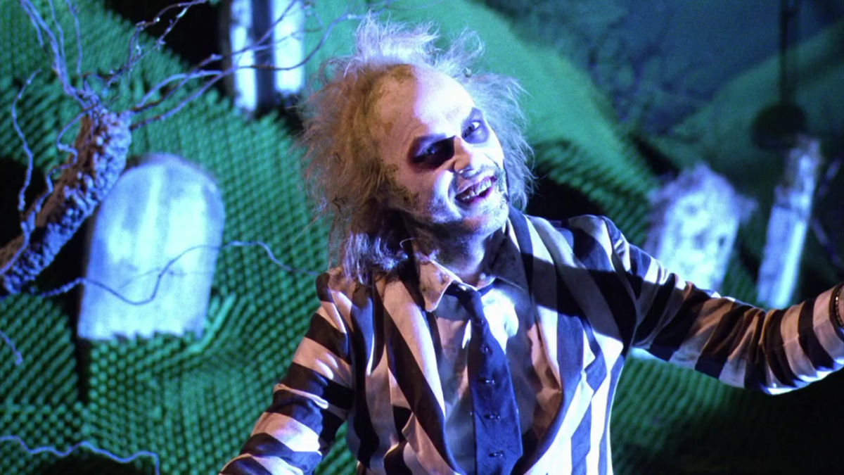Michael Keaton as Beetlejuice.