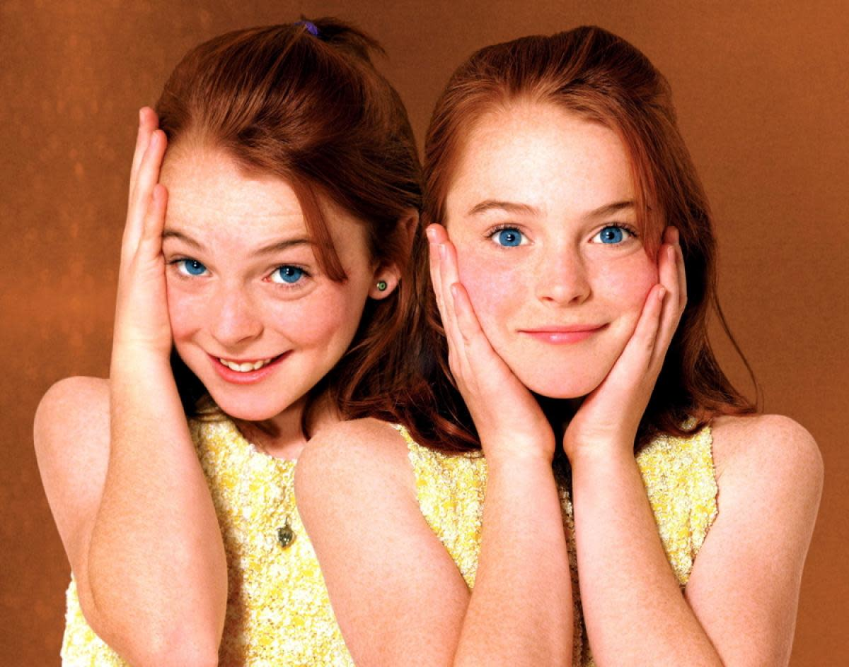 Linsday Lohan in The Parent Trap.