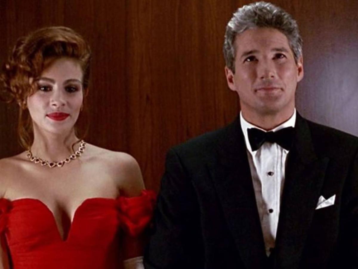 Julia Roberts & Richard Gere in Pretty Woman.