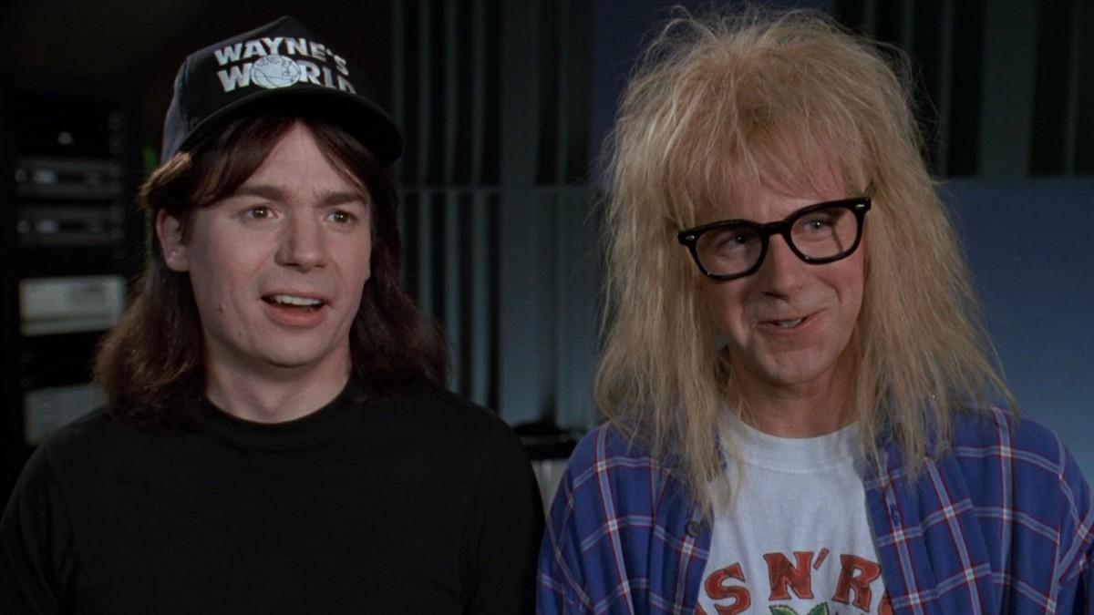 Mike Meyers & Dana Carvey in Wayne's World.