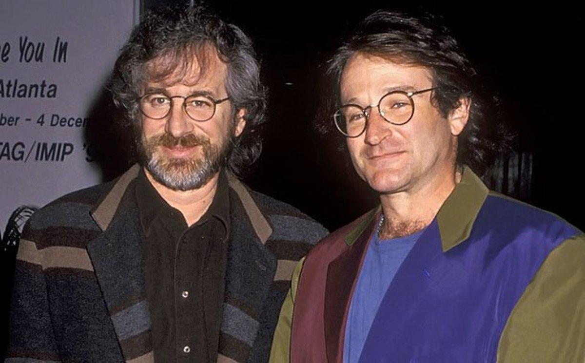 Steven Spielberg & Robin Williams.