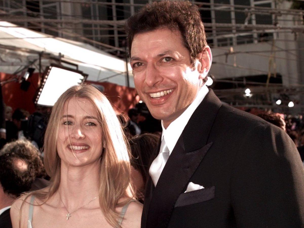 Laura Dern & Jeff Goldblum.