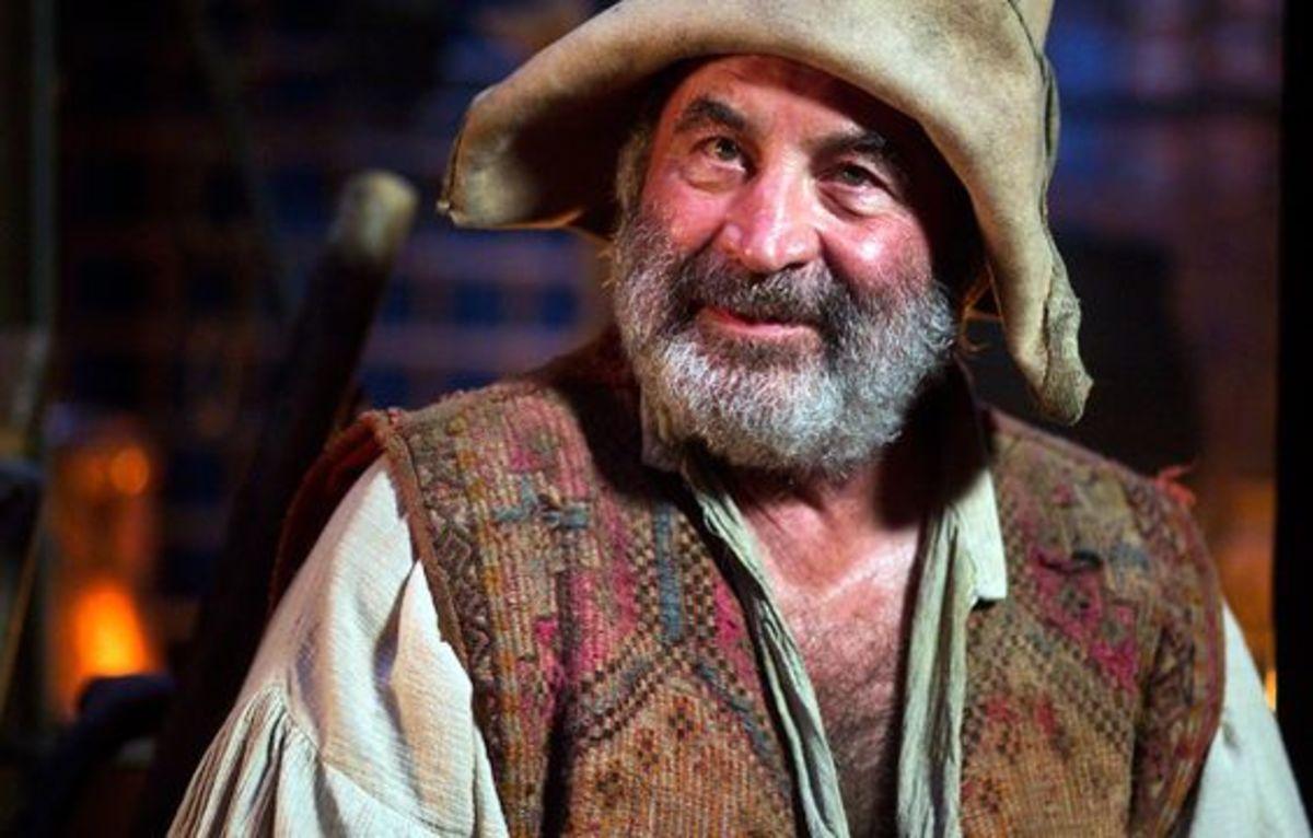 Bob Hoskins as Smee in Hook.