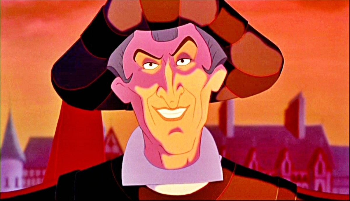 Frollo from The Hunchback of Notre Dame.