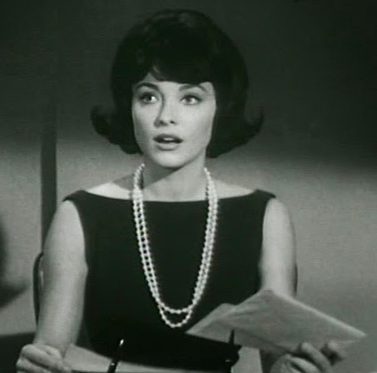 Sharon in the role of Janet Trego in the Beverly Hillbillies.