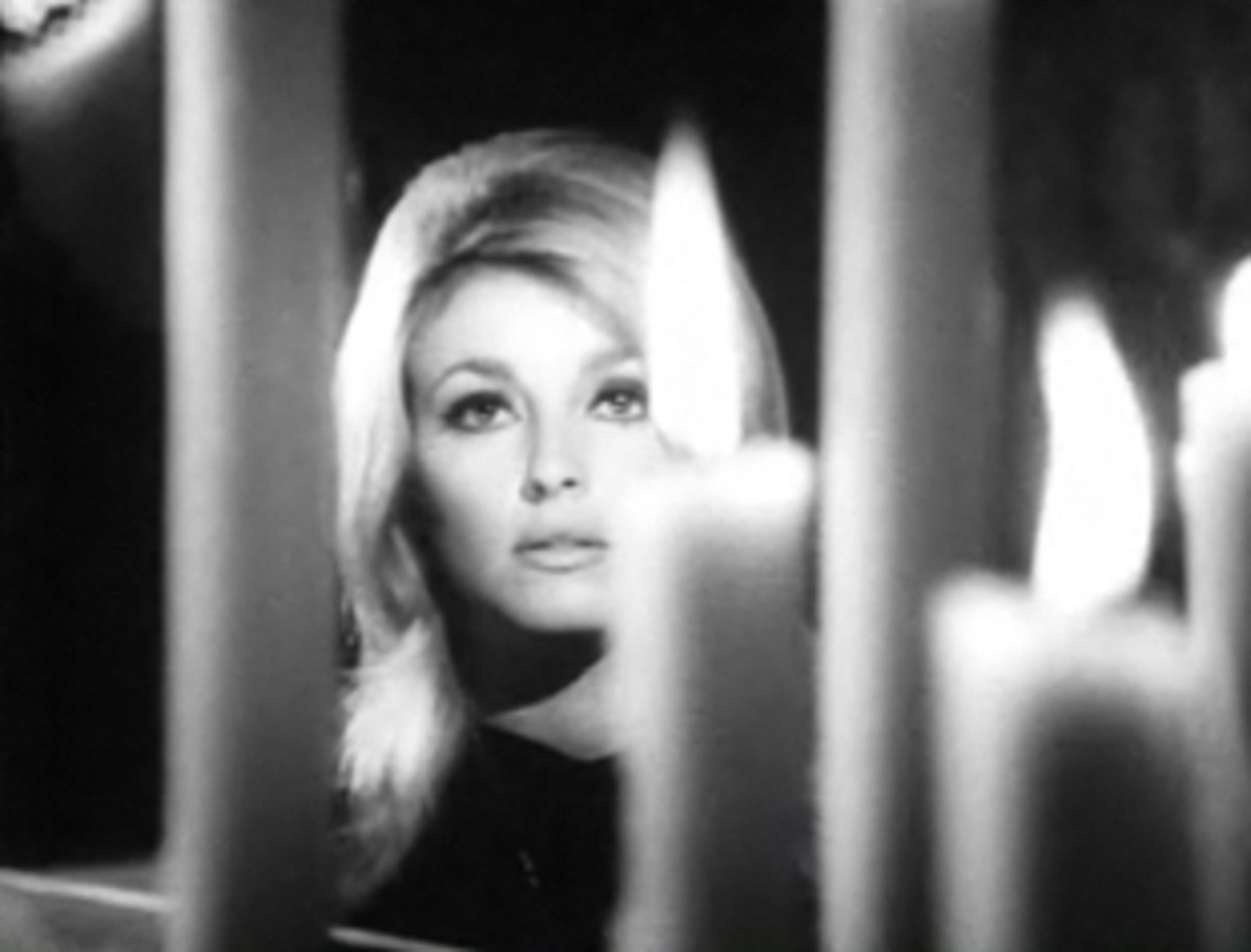 Sharon in her role for Eye of the Devil