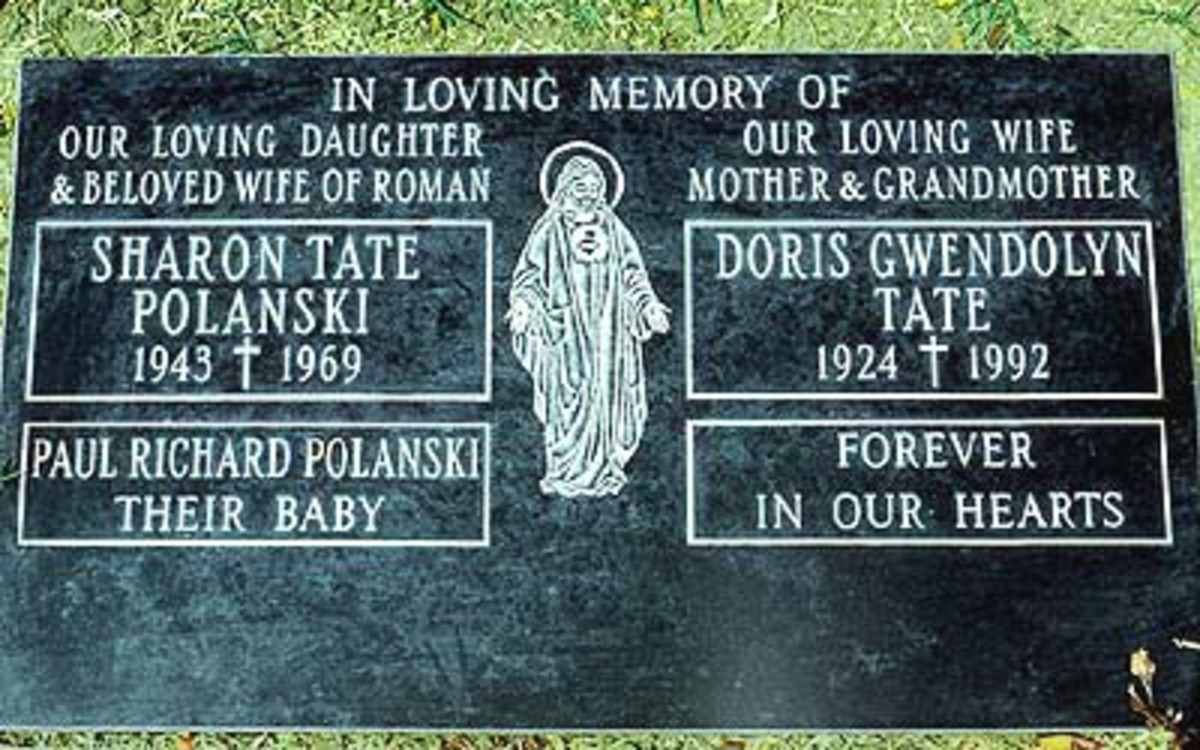 Sharon and Pauls grave. She was berried next to her mother, Doris.