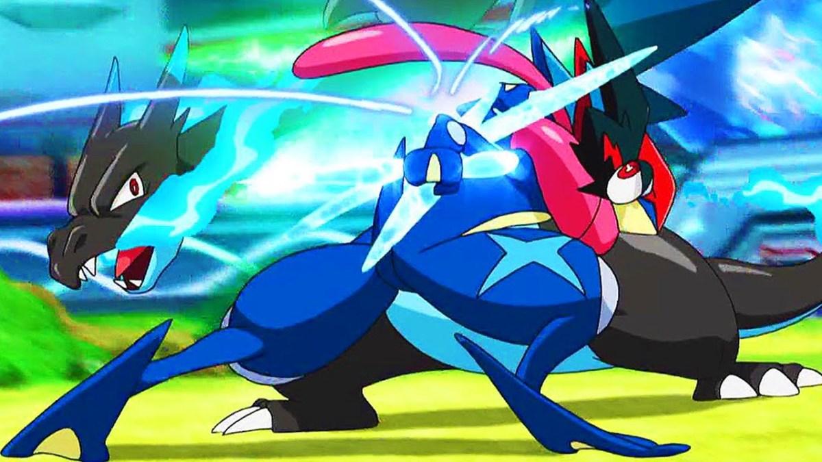 Ash-Greninja vs Mega Charizard X