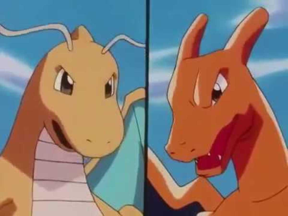 Dragonite vs Charizard