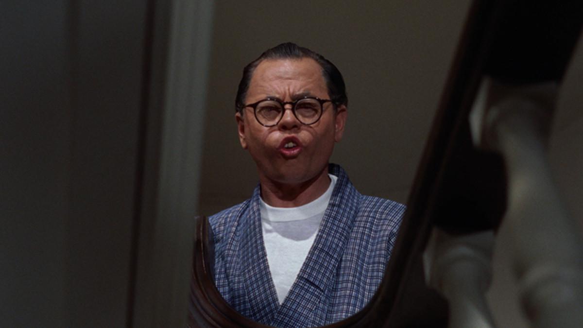 Mickey Rooney as Mr. Yunioshi.