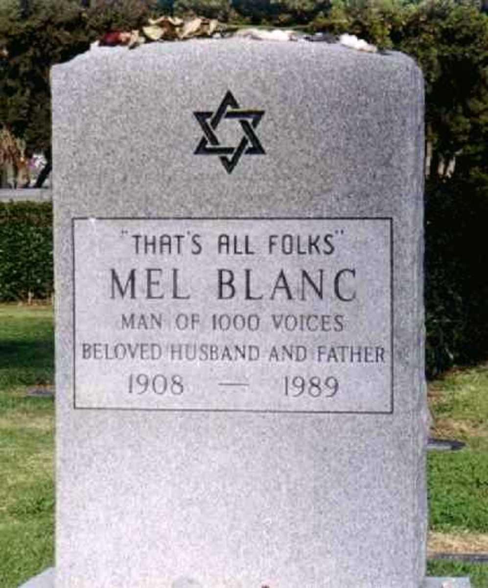 Gravestone of Mel Blanc