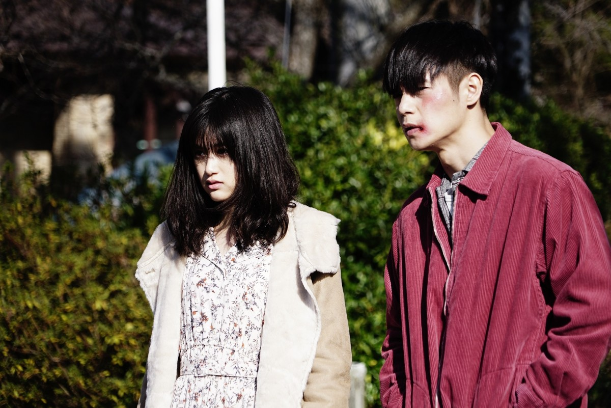 "Sakurako Konishi and Masataka Kubota in Takashi Miike's, ""First Love."""