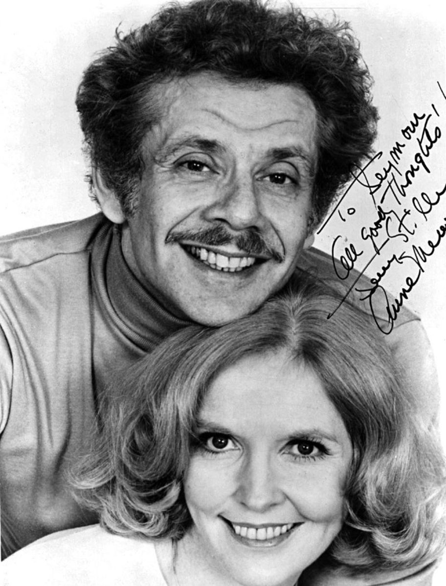 Jerry Stiller and Anne Mear
