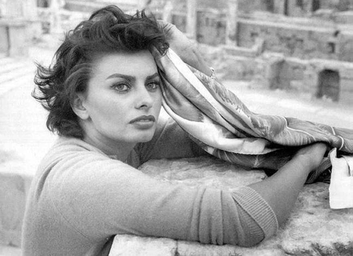 Sophia Loren in Two Women (1962).