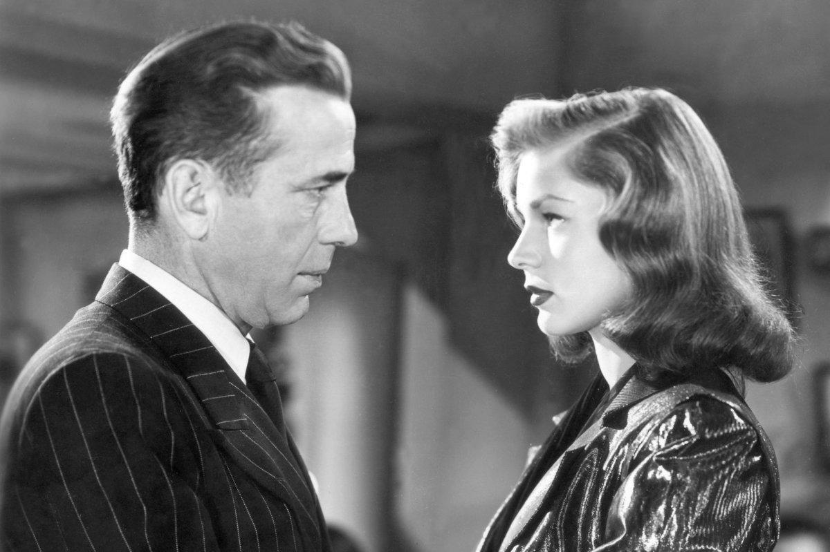 Humphrey Bogart & Lauren Bacall.