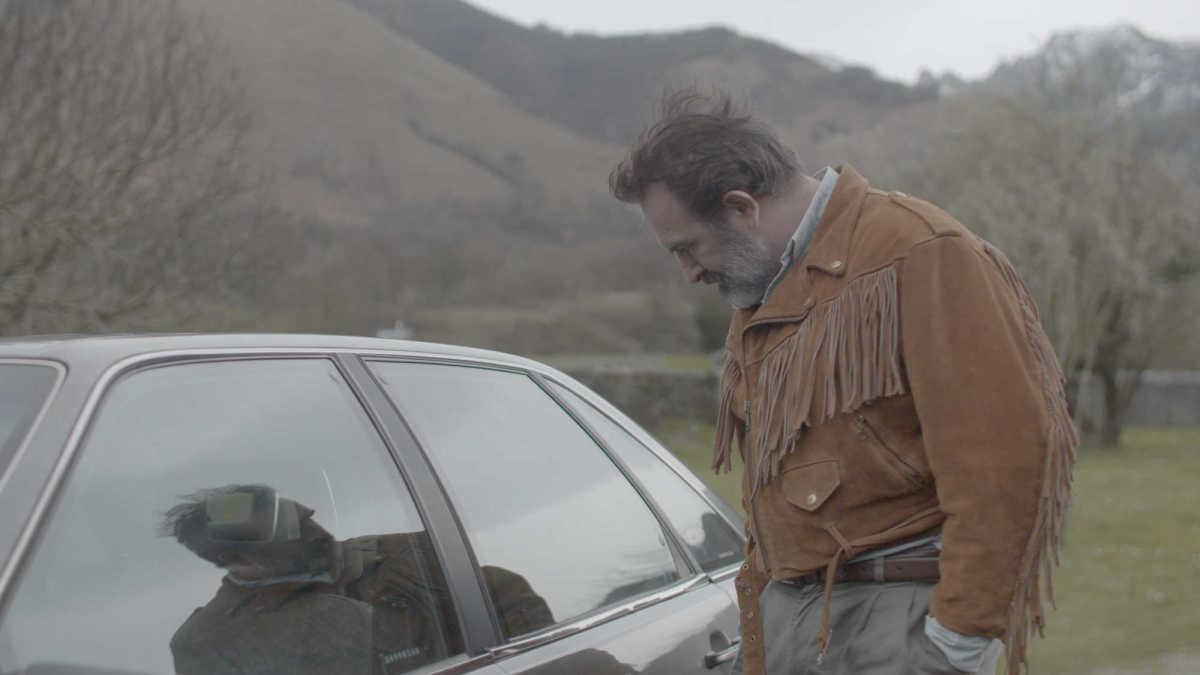 """Jean Dujardin as Georges in, """"Deerskin."""""""