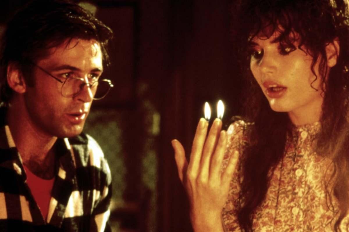 Alec Baldwin (Adam) & Geena Davis (Barbara).