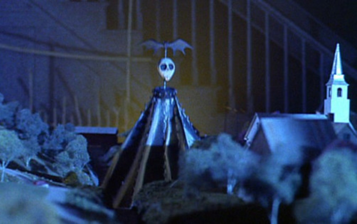 The cameo of Jack Skellington.