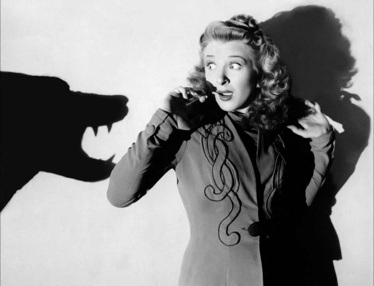 Evelyn Ankers in The Wolf Man (1941).