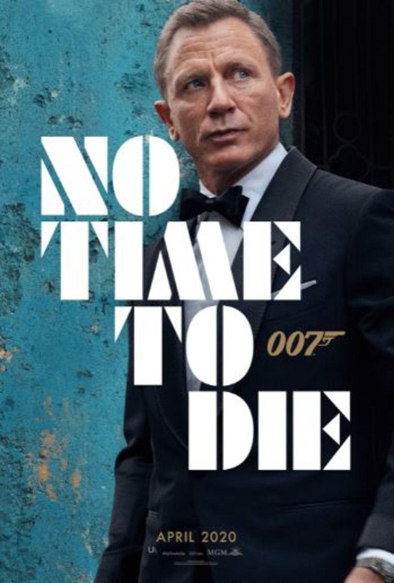 """No Time to Die"" is Daniel Craig's fourth 007 movie."