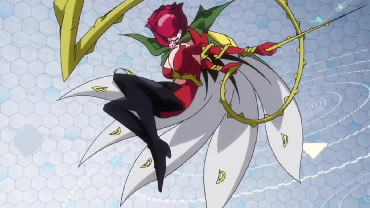 Rosemon in Digimon tri
