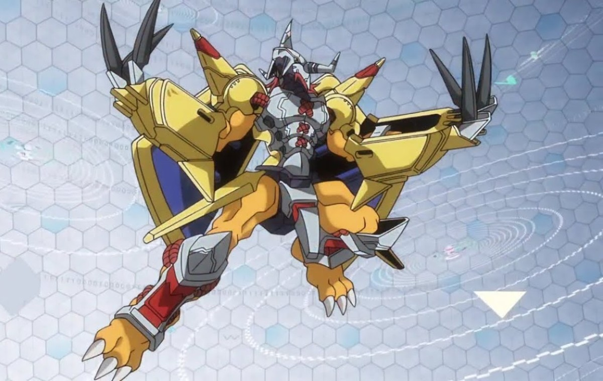 WarGreymon in Digimon tri