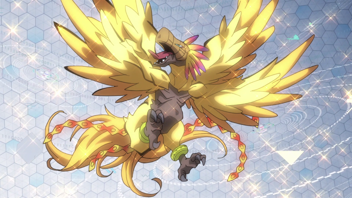 Phoenixmon in Digimon tri
