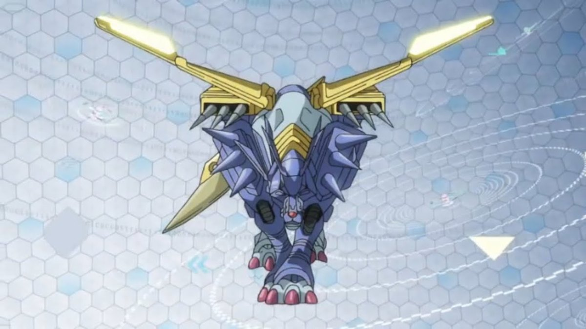 MetalGarurumon in Digimon tri