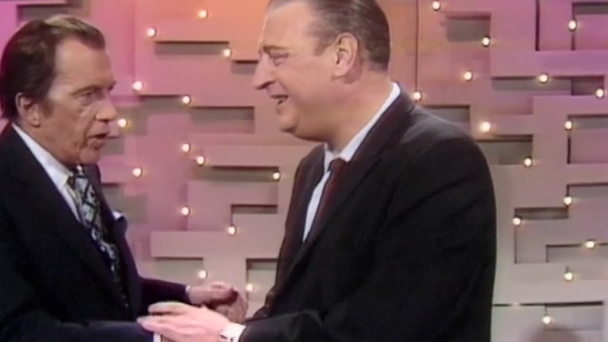 Rodney Dangerfield with Ed Sullivan
