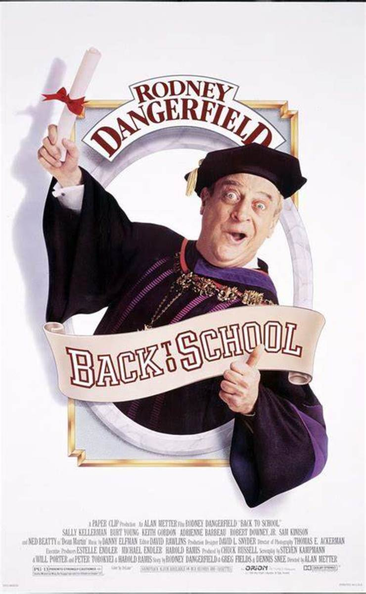Movie poster for Back to School