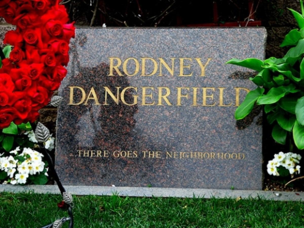 Rodney Dangerfield's grave marker