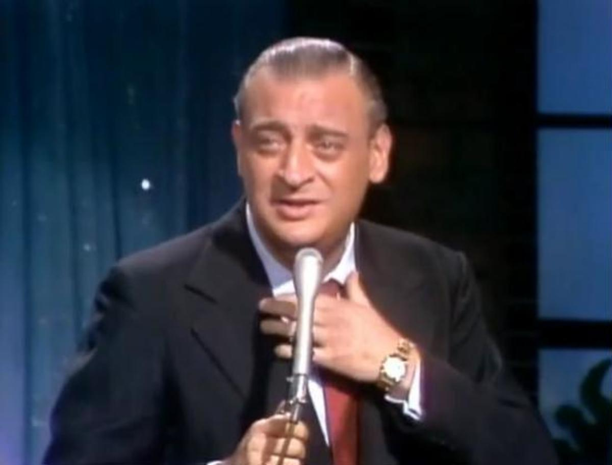 Rodney Dangerfield performing