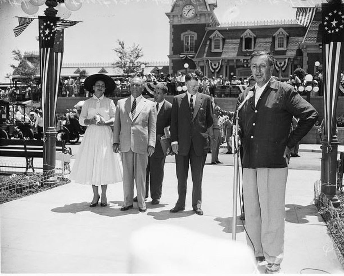 Opening Day of Disneyland