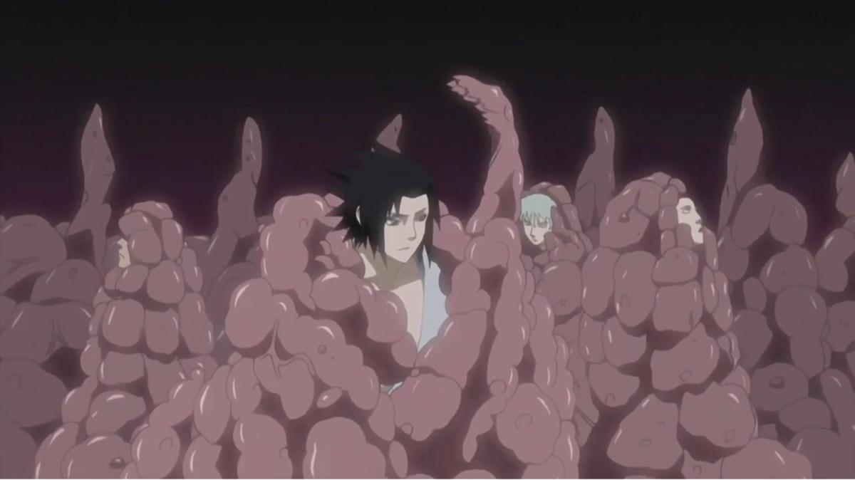 Orochimaru's Living Corpse Reincarnation