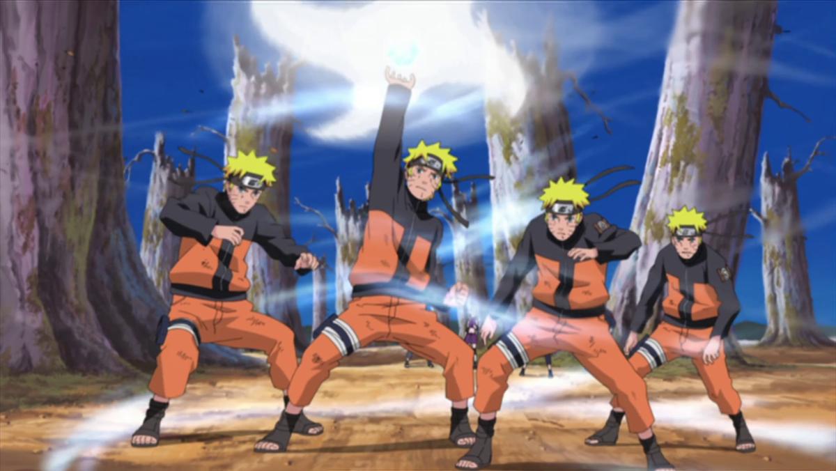 Naruto's Rasenshuriken