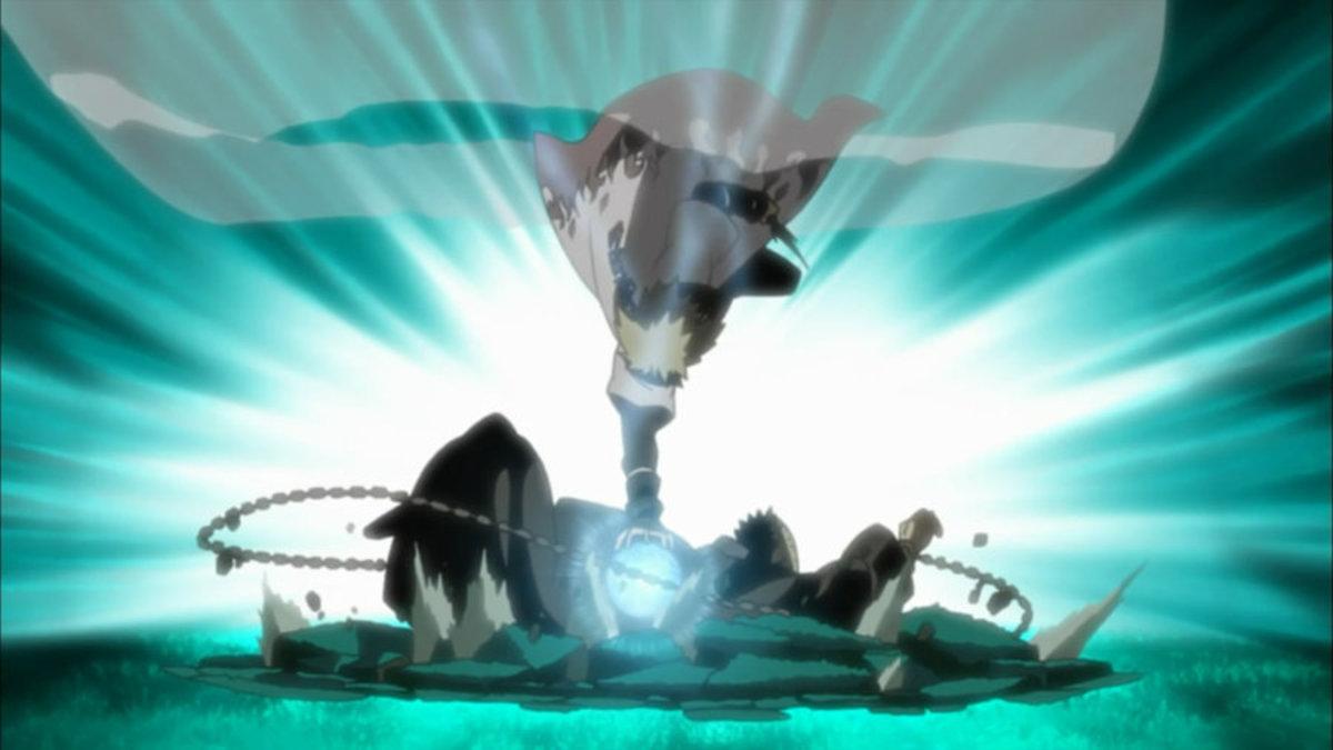 Minato's Flying Thunder God Technique