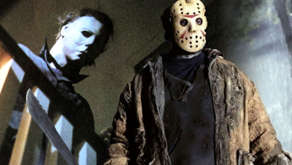 Michael Myers(left) Jason Voorhees(right)