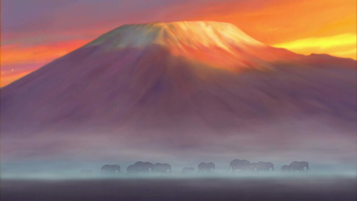 Gorgeous matte painting and animation.