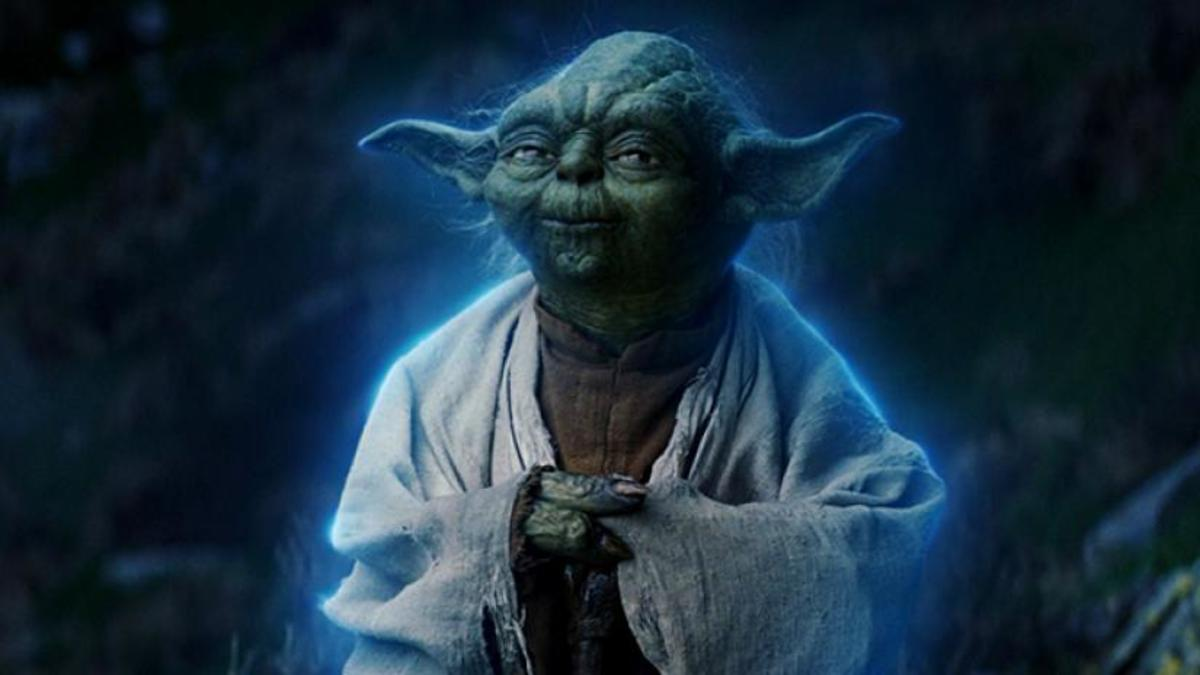 Yoda as a Force Ghost
