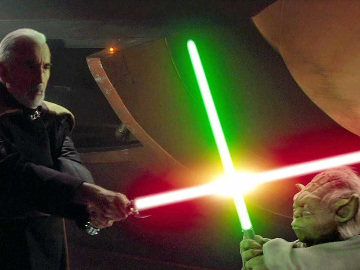 Count Dooku vs Yoda