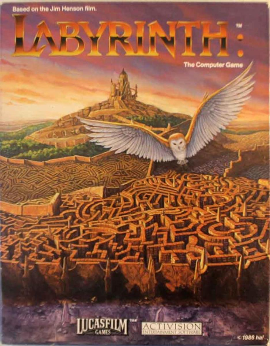 Artist impression of the world of Labyrinth.