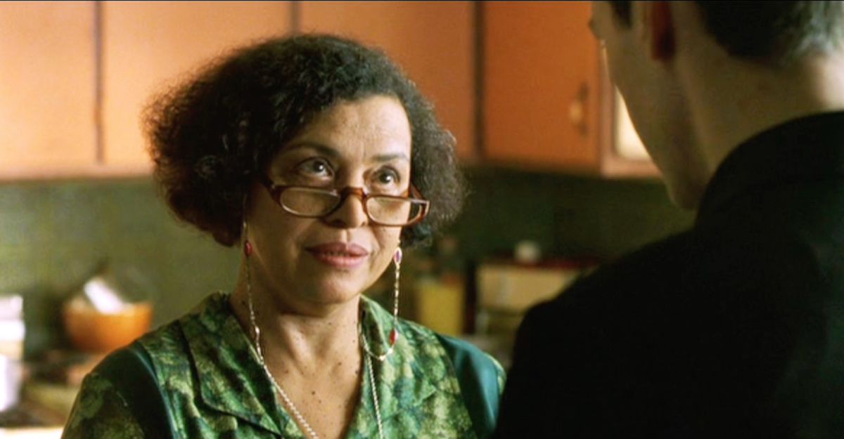 """In the first movie, The Oracle (Gloria Foster) doesn't tell Neo that he is not The One. She just says, """"Sorry, kid."""""""