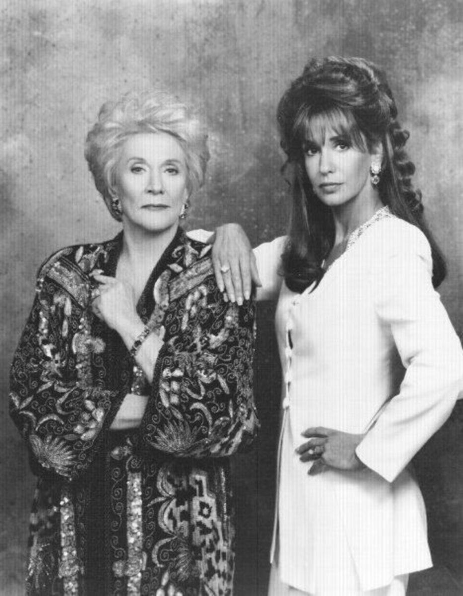 Kay Chancellor and Jill Abbott