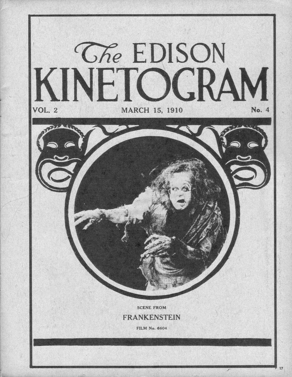 March 15, 1910 film catalog The Edison Kinetogram